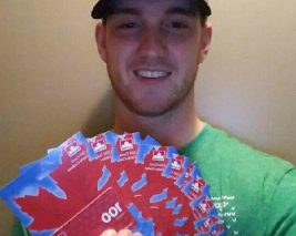 October 2017 Winner of $1000.00 in gas cards